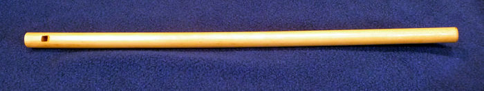 Choctaw Overtone Flute, collection of Clint Goss, collected by Dr. Richard W. Payne