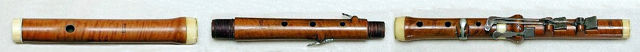 Classical Flute, about 1800