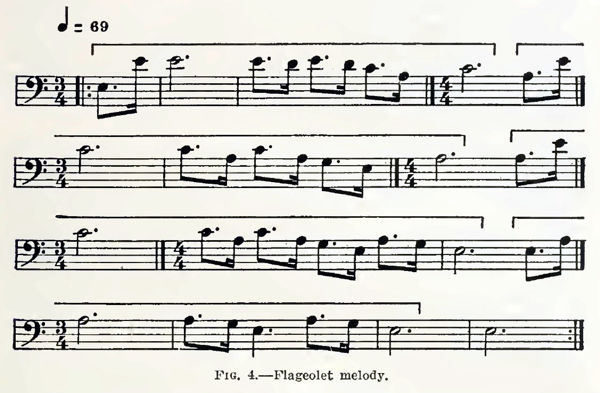 Flageolet Melody
