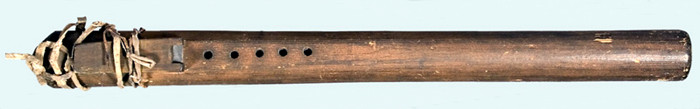Plains Courting Flute, late 19th Century.