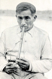 Robert Henry at the 1933 recording session