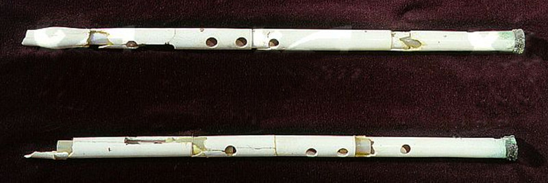 Two flutes from Alexandria, Egypt, 305—30 BCE