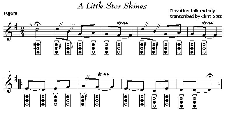 [A Little Star Shines]